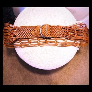 Suzi Roher Leather Statement Belt!